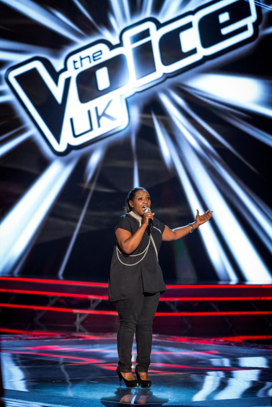 Angie Brown The Voice