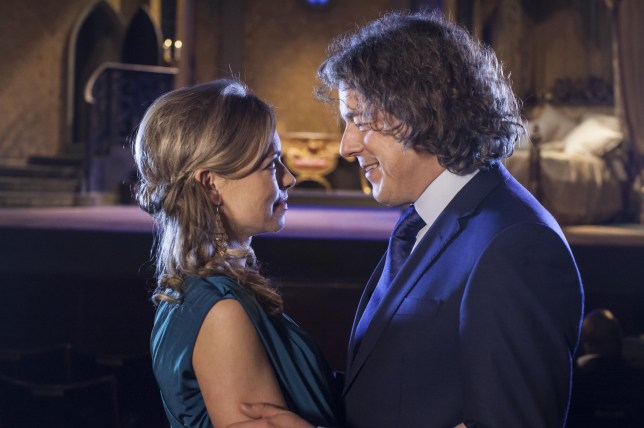 Jonathan Creek 2014: Polly Creek, Sarah Alexander, Jonathan Creek, Alan Davies