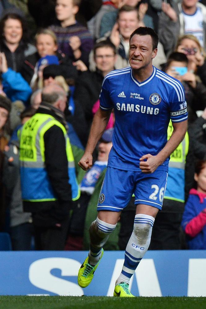Chelsea skipper John Terry relishing title run-in