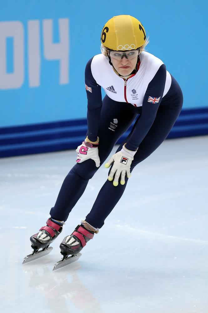 Elise Christie exclusive: I'll bounce back from my Sochi nightmare