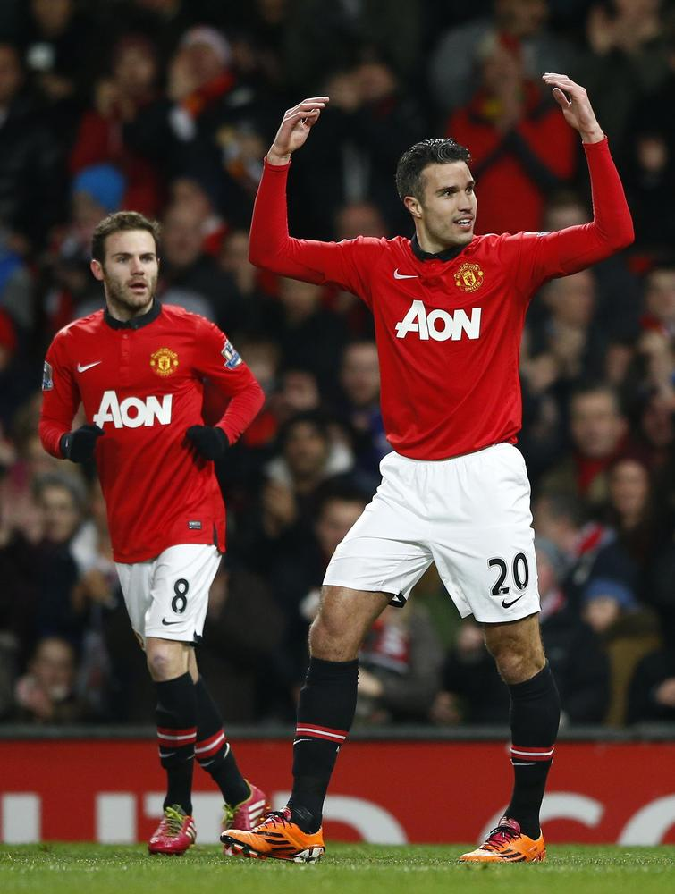 Why Robin Van Persie and Juan Mata will kill off Arsenal's title challenge