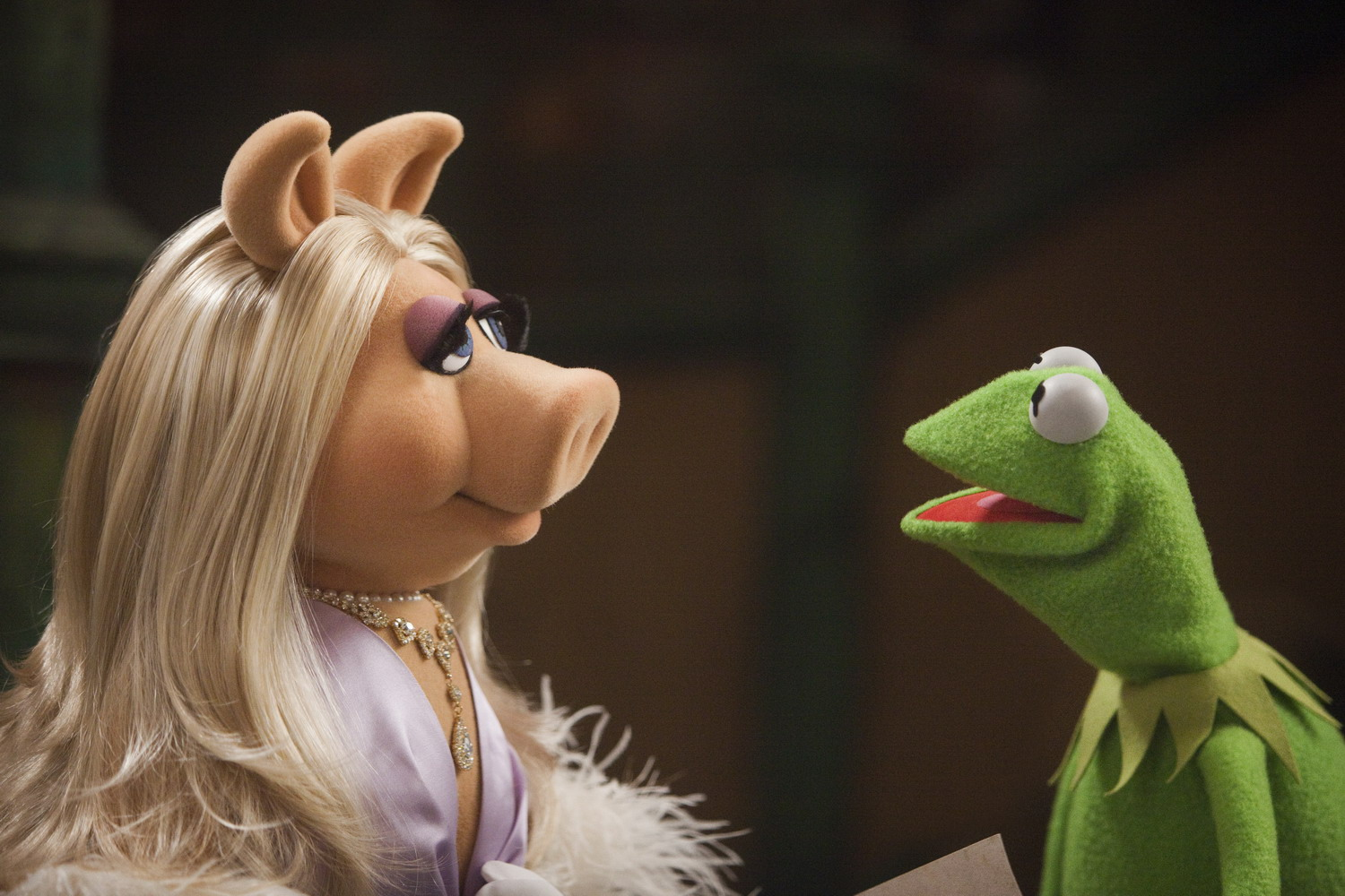 Kermit and Miss Piggy make first public appearance together since shock split – and it's awkward as hell