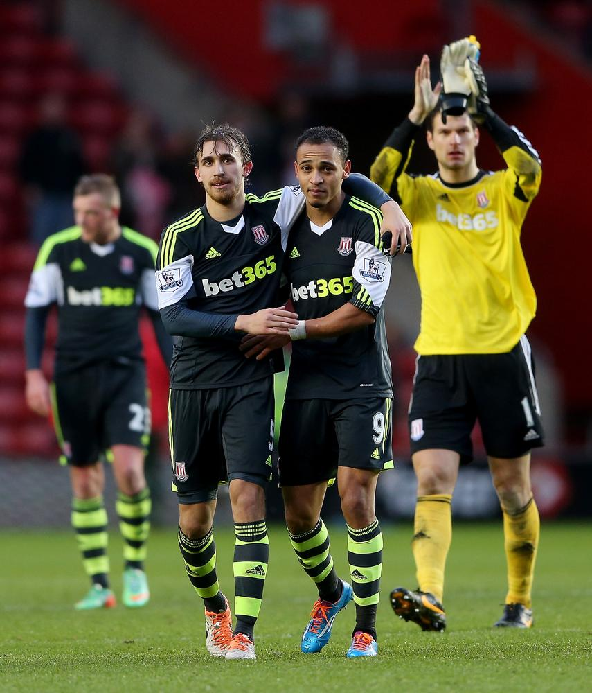 Peter Odemwingie and Marc Muniesa give Stoke City fans reason to hope