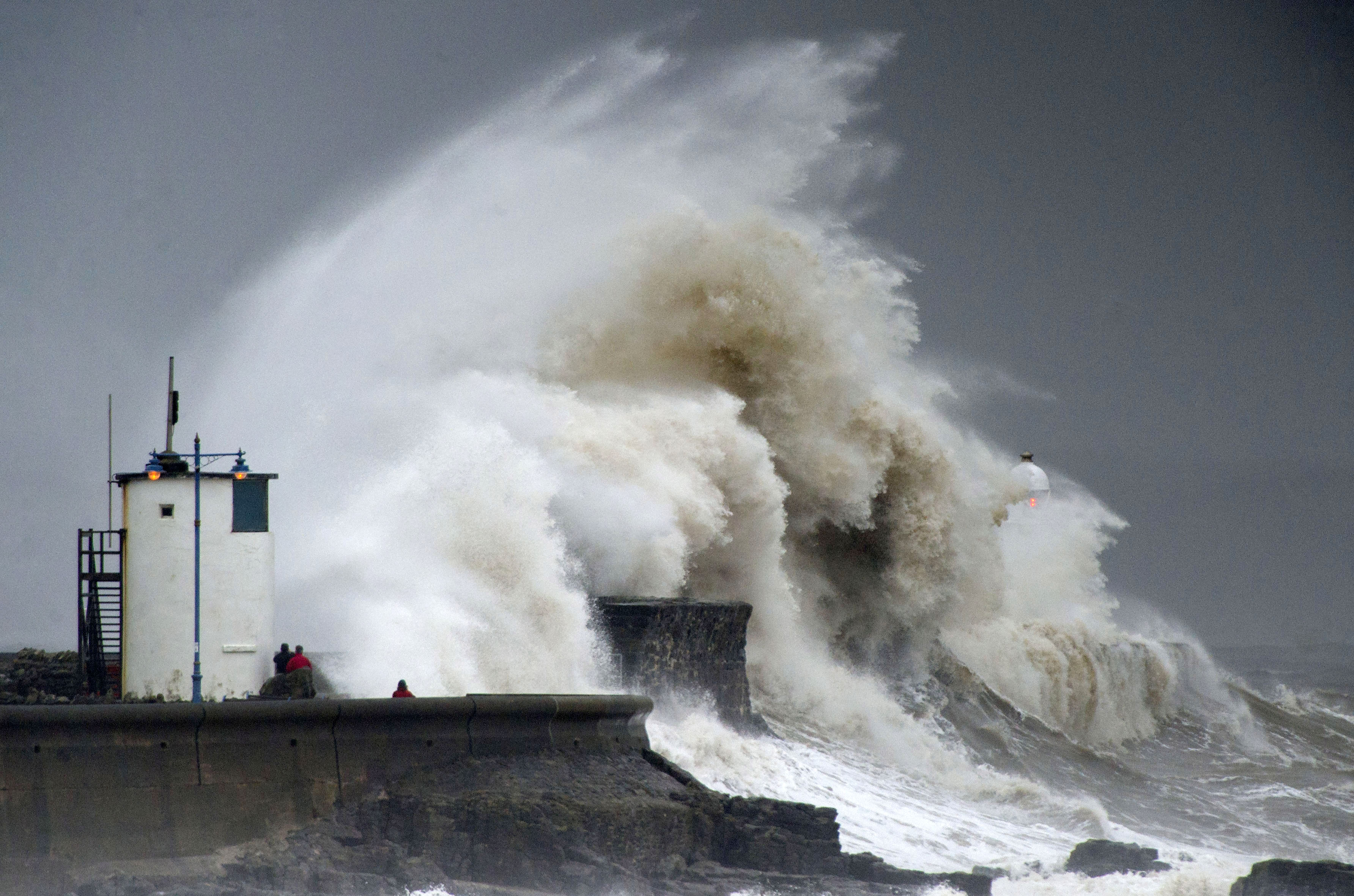 Storms, UK weather