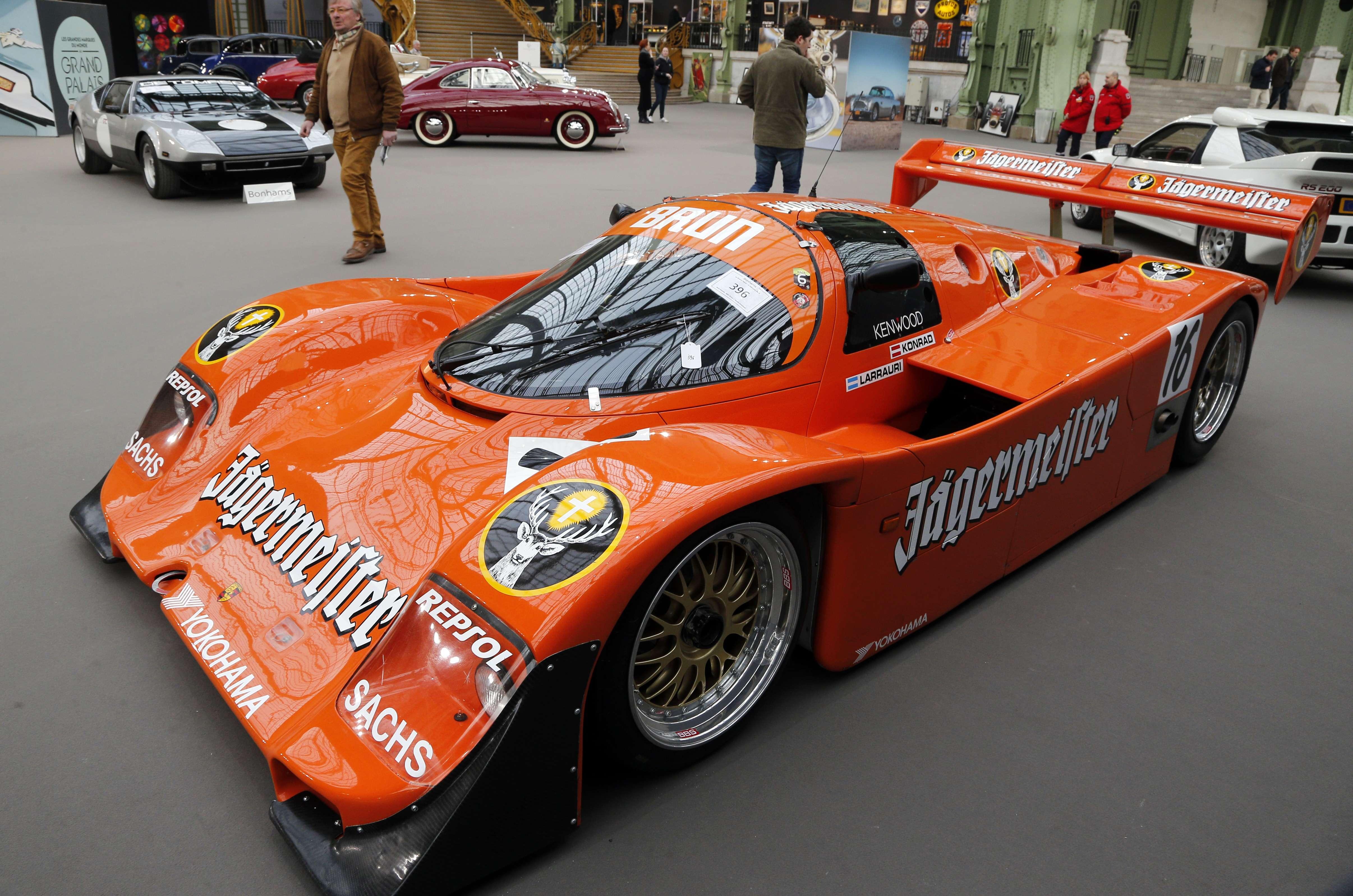 Gallery: Retromobile Week classic car auction in Paris 2014