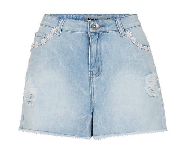 Get the look: MOTO Bloom dungarees, New Look shorts and Eley Kishimoto T-shirt