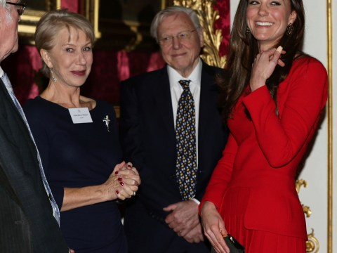 Gallery: Kate Middleton and Queen Elizabeth II host dramatic arts reception at Buckingham Palace