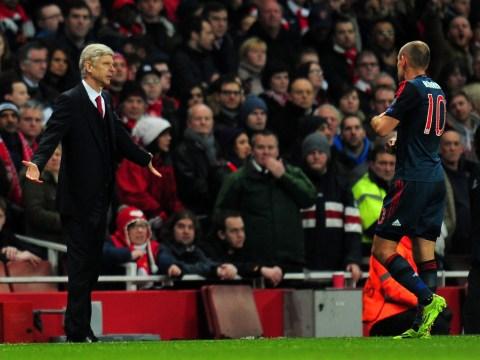 Arsene Wenger blasts 'diver' Arjen Robben after Arsenal defeat to Bayern Munich