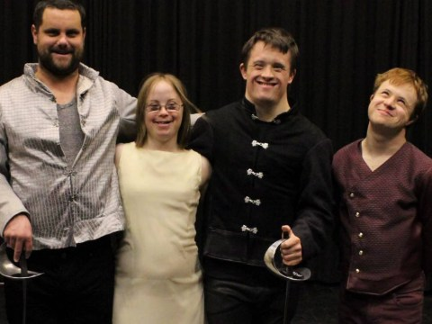 Growing Up Down's was a touching portrait of young actors with Down's Syndrome putting on a production of Hamlet