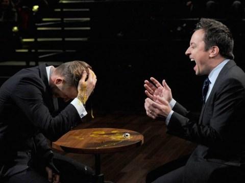 David Beckham egged on Late Night With Jimmy Fallon