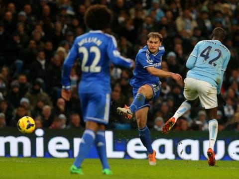 Manchester City v Chelsea: Sweet Branislav Ivanovic strike makes it advantage Jose Mourinho's men