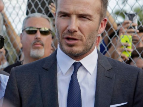 David Beckham refuses to rule out the possibility of playing for his new Miami MLS team