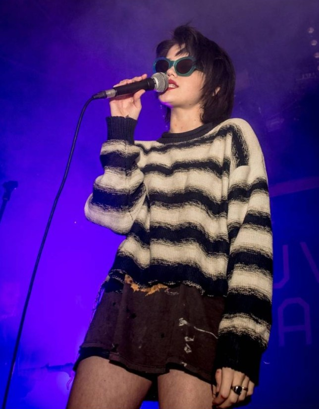 Sky Ferreira debut album, Night Time, My Time is out in March (Picture: David Wolff-Patrick/Getty)