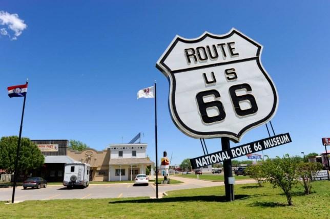 The Route 66 Auto Museum in Santa Rosa (Picture: Alamy)