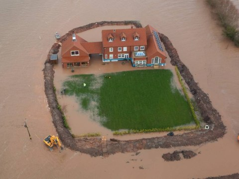 Somerset floods overwhelm 'island fortress' built to protect £1m home
