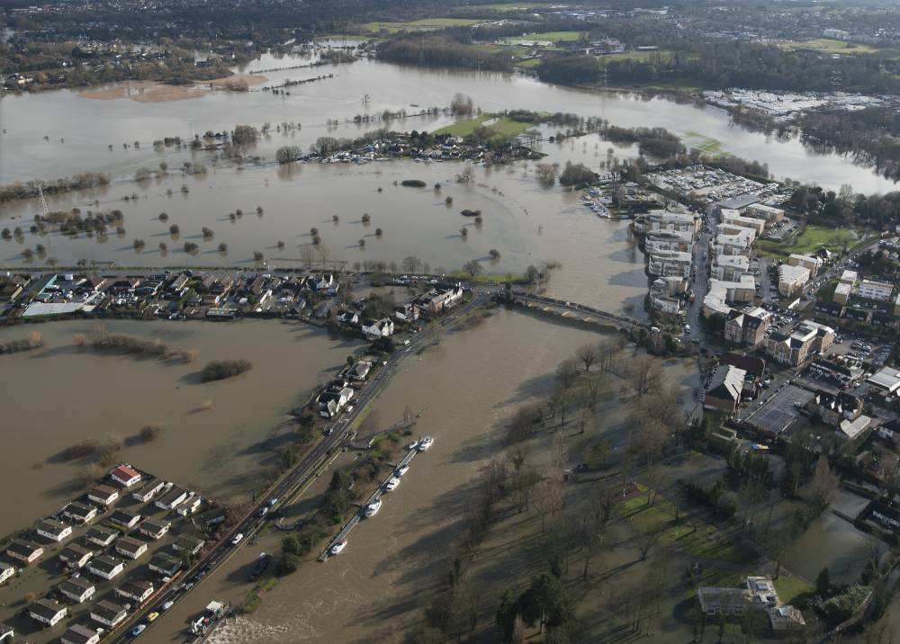 They sink it's all over (not any time soon): Flood misery could carry on for months