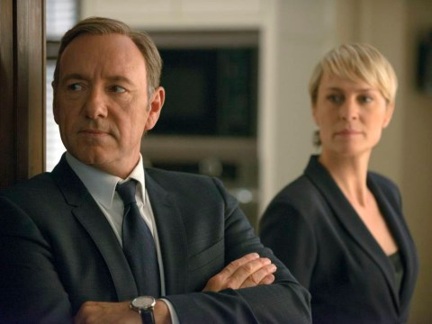 Kevin Spacey hopes House of Cards goes on for a long time