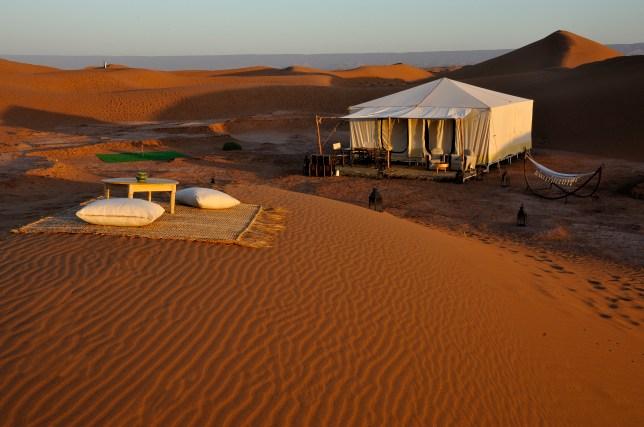 Azalai Desert Lodge in Zagora, Morocco (Picture: Michel Dany)