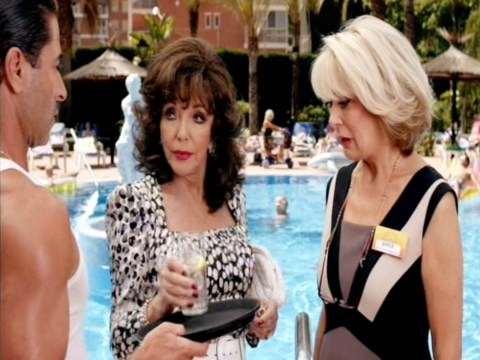 Benidorm: Joan Collins and co need a lifebelt – this show is drowning