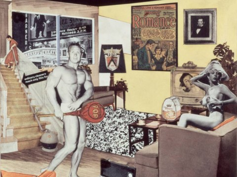 Richard Hamilton pop art retrospective at ICA and Tate is remarkable and provocative