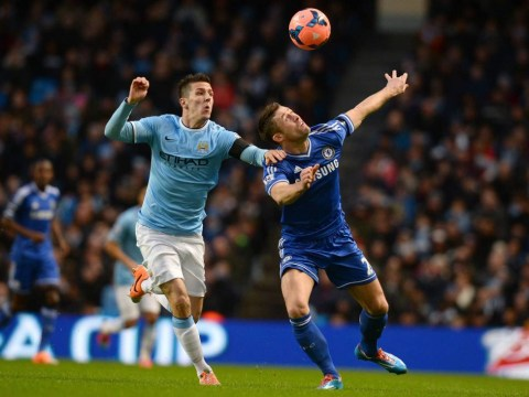 Stevan Jovetic strikes as Manchester City draw first blood in FA Cup clash with Chelsea – video