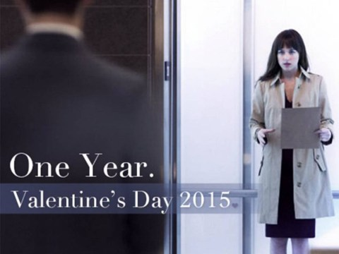 Dakota Johnson gets her chance to shine in new Fifty Shades of Grey poster