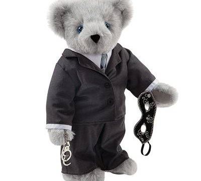 Christian Grey teddy bear goes on sale – and he's even got handcuffs