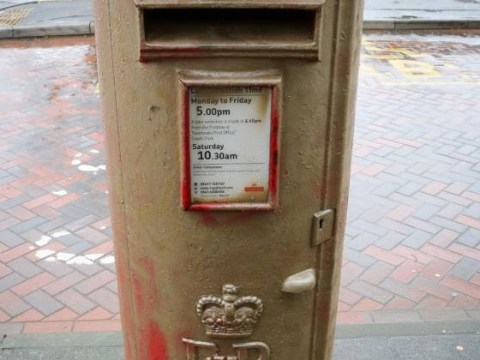 Sochi 2014 Winter Olympics: Sochi champ Lizzy Yarnold finally gets her gold post box – but not entirely legally