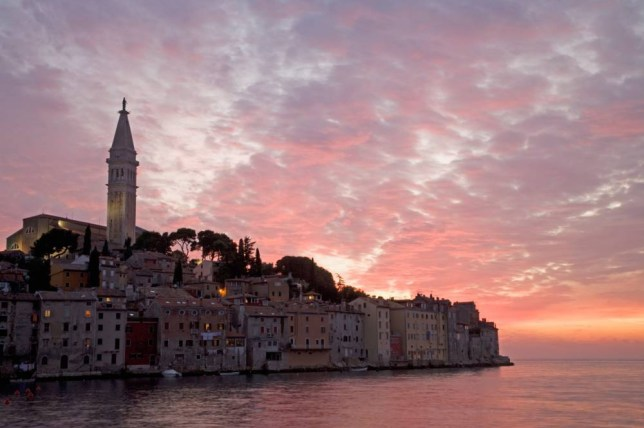 Rovinj will play host to the Red Bull Air Race (Picture: Alamy)
