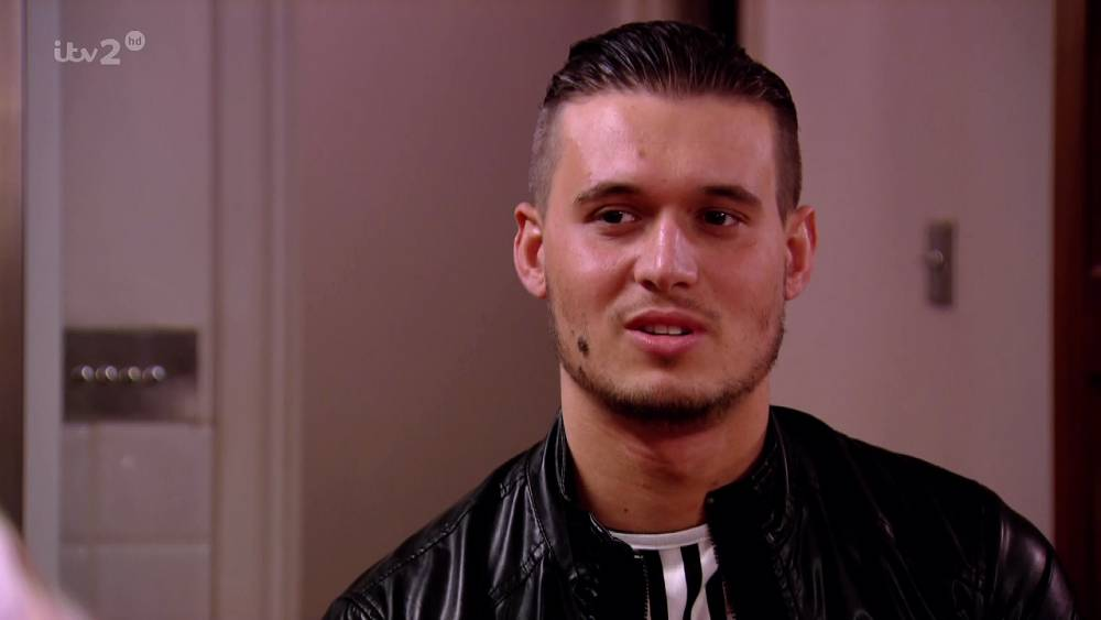 Charlie Sims - TOWIE (Picture: ITV2)