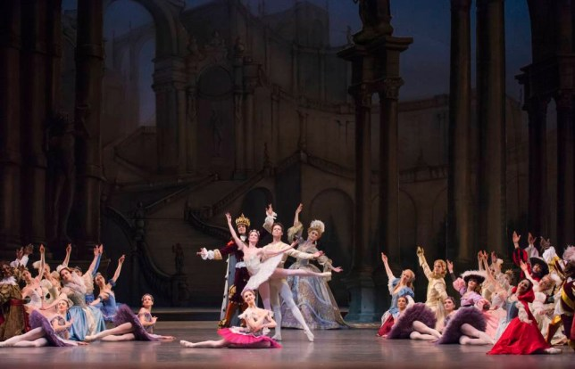 The Sleeping Beauty by The Royal Ballet at Royal Opera House, with Lauren Cuthbertson and Matthew Golding (Picture: Tristram Kenton)