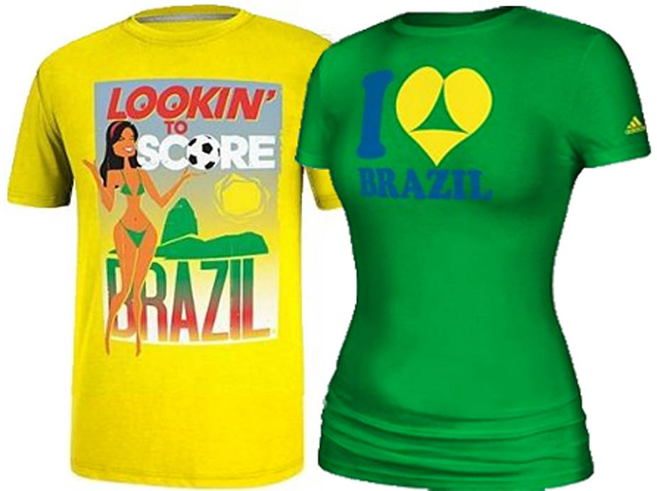 'Sexy' adidas World Cup T-shirts pulled after complaints from Brazil