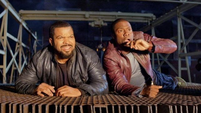 Ice Cube puts Kevin Hart through his paces in Ride Along (Picture: supplied)