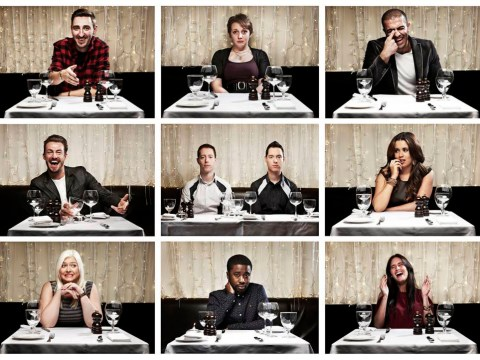 The First Dates participants don't seem interested in finding a partner