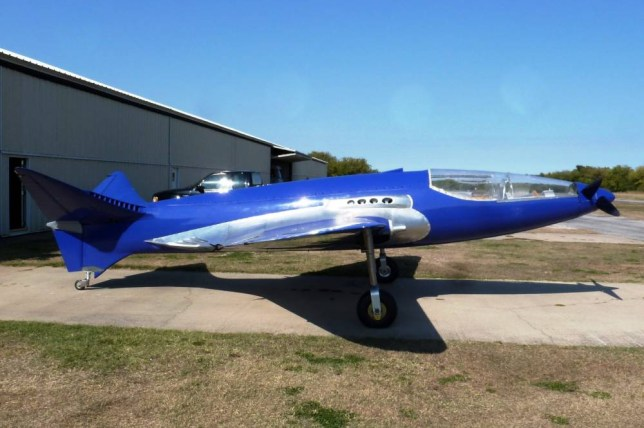 A British engineer is behind the re-creation of this ambitious but tragic aircraft dubbed the Bugatti Veyron of the sky.  See SWNS story SWBUGATTI: The Bugatti 100P is regarded by many as one of the most advanced planes of its era and it was supposed to crack speed of more than 500mph. But in 1940, and near completion, Bugatti was forced to conceal the elegant aircraft by packing it up and hiding it in a French barn to prevent the German military discovering it.  It is thought Albert Steer, one of Hitlerís ministers, was aware of the plane and if they got hold of the technology it could have eliminated the Spitfireís advantage.