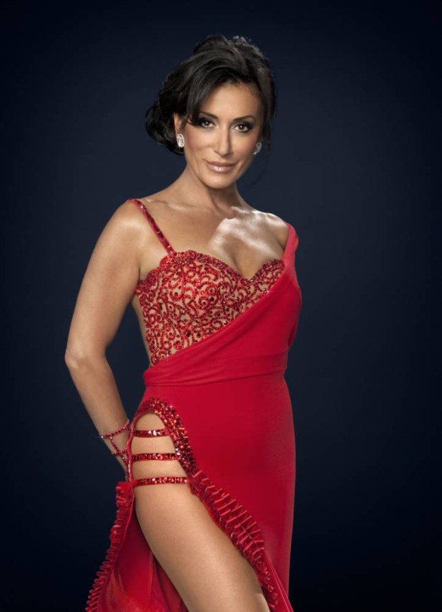 Nancy Dell'Olio on Strictly