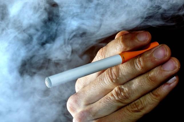 E-cigarette (Picture: File/PA)