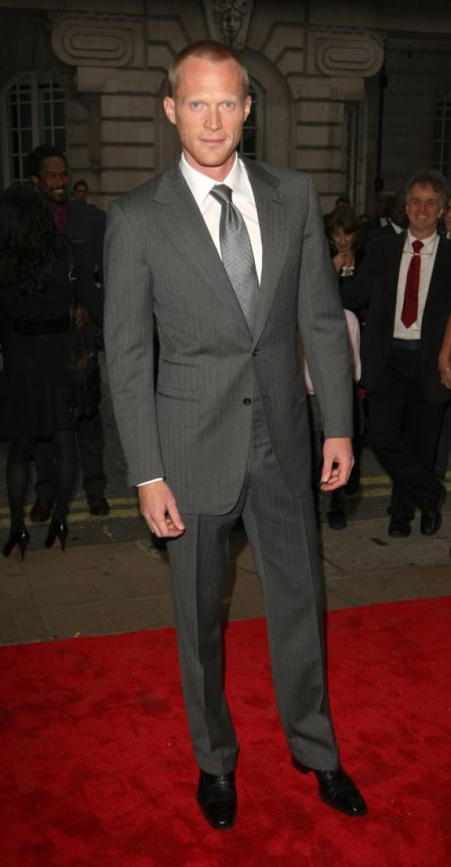 Paul Bettany arrives at the European premiere of Creation at the Curzon Mayfair in London.