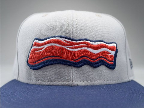 Mmmmmmm… IronPigs new bacon logo has sweet smell of success