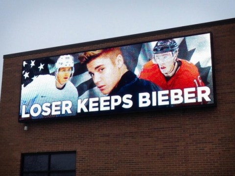 'Loser keeps Bieber' – USA and Canada's ice hockey stars offered additional Winter Olympics incentive