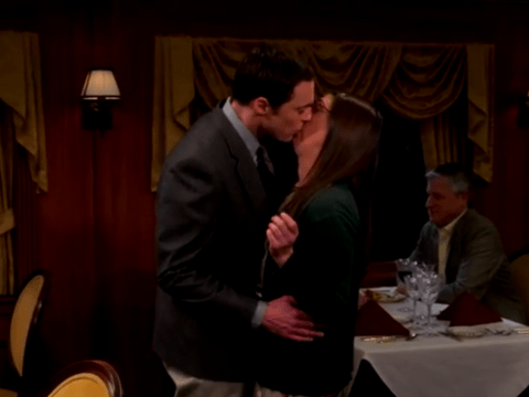 Sheldon Cooper kisses Amy! The Big Bang Theory ramps up the romance for Valentine's Day