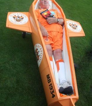 'I'm Blackpool 'til I die' – Tangerines fan commissions personal club coffin