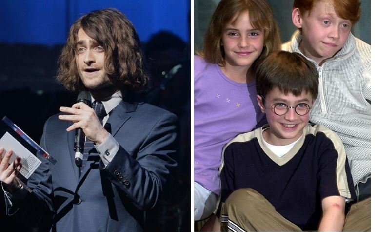 Why Has Daniel Radcliffe Got Long Hair Harry Potter Actor Grows