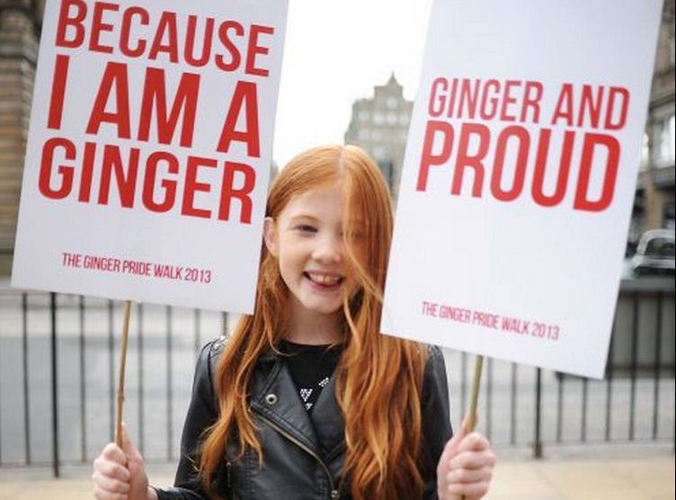 'Ginger Pride is a ridiculous concept. Here's why'