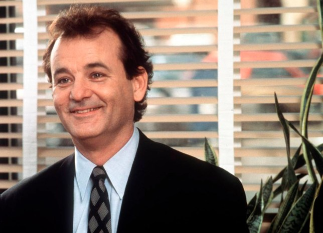 Film 'Groundhog day' (1993)Monday 18th November 2002, 9pm....BILL MURRAY stars.   Licensed by CHANNEL 5 BROADCASTING. C5 Stills: 0207 550 5509.  Free for editorial press and listings use in connection with the current broadcast of Channel 5 programmes only.  This Image may only be reproduced with the prior written consent of Channel 5.  Not for any form of advertising, internet use or in connection with the sale of any product.