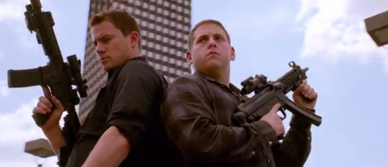 Channing Tatum and Jonah Hill compare themselves to Rihanna and Chris Brown in new 22 Jump Street trailer