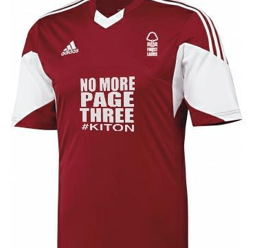 No More Page 3 sponsors Nottingham Forest Ladies: Women in UK sport need more coverage
