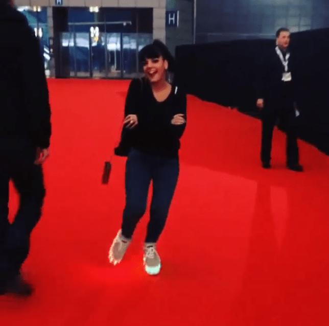 Lily Allen - Brit Awards 2014