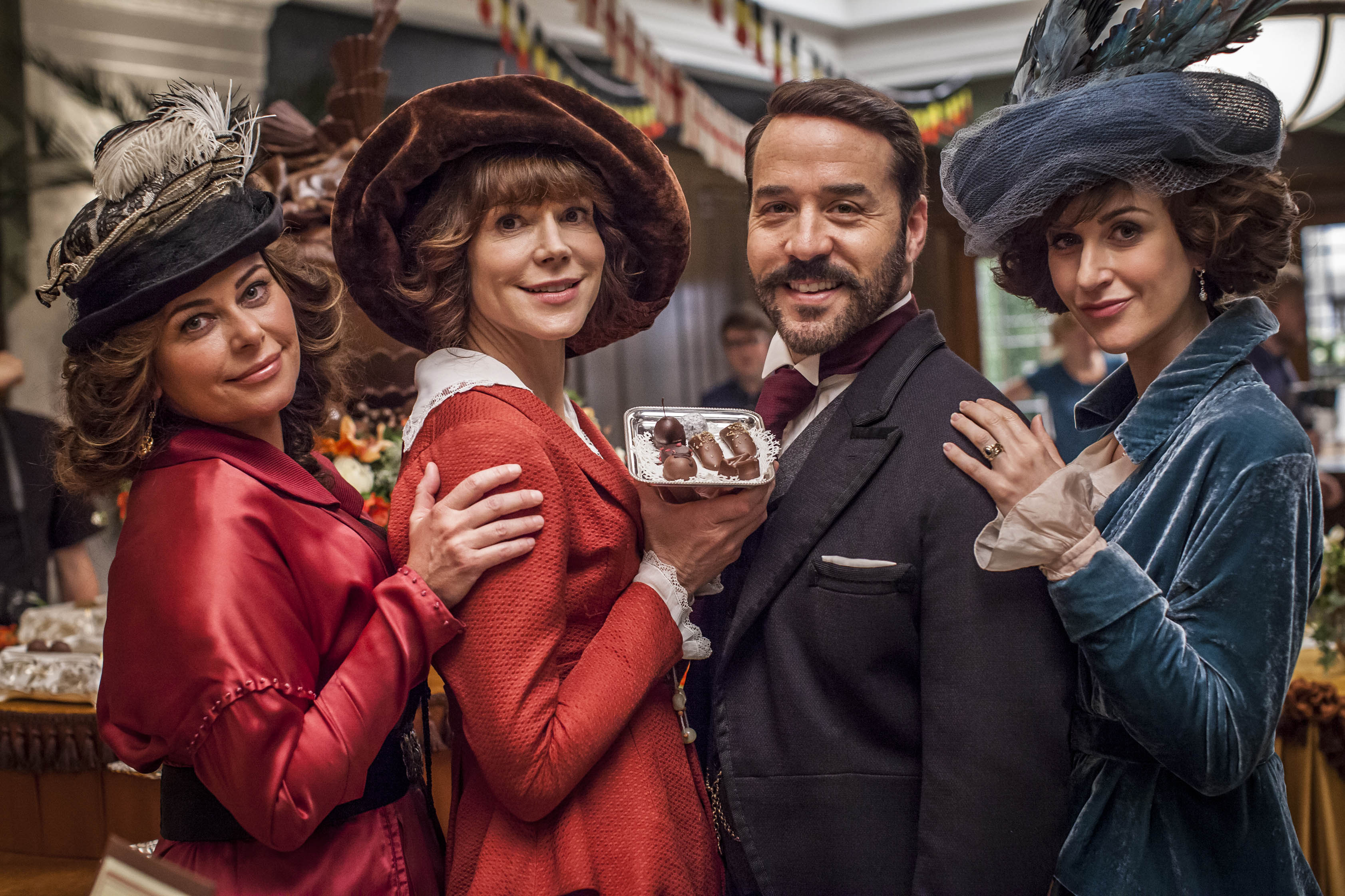 Mr Selfridge series two episode four: Never mind the war, it's all about the chocolate