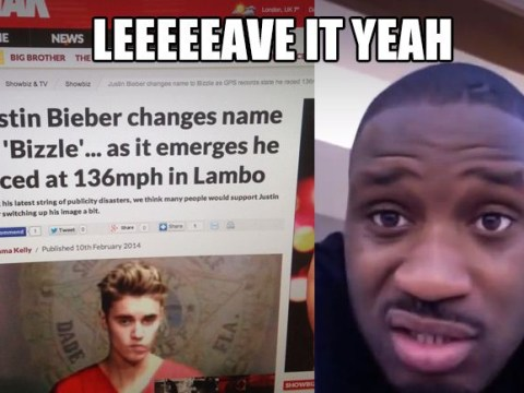 Justin Bieber in name row with rapper Lethal after calling himself 'Bizzle'